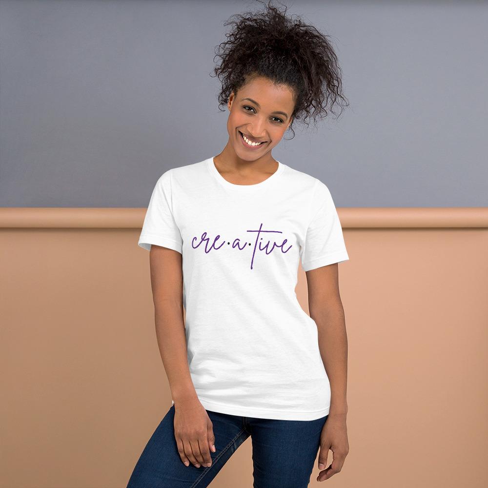 Cre·a·tive Short-Sleeve Unisex T-Shirt