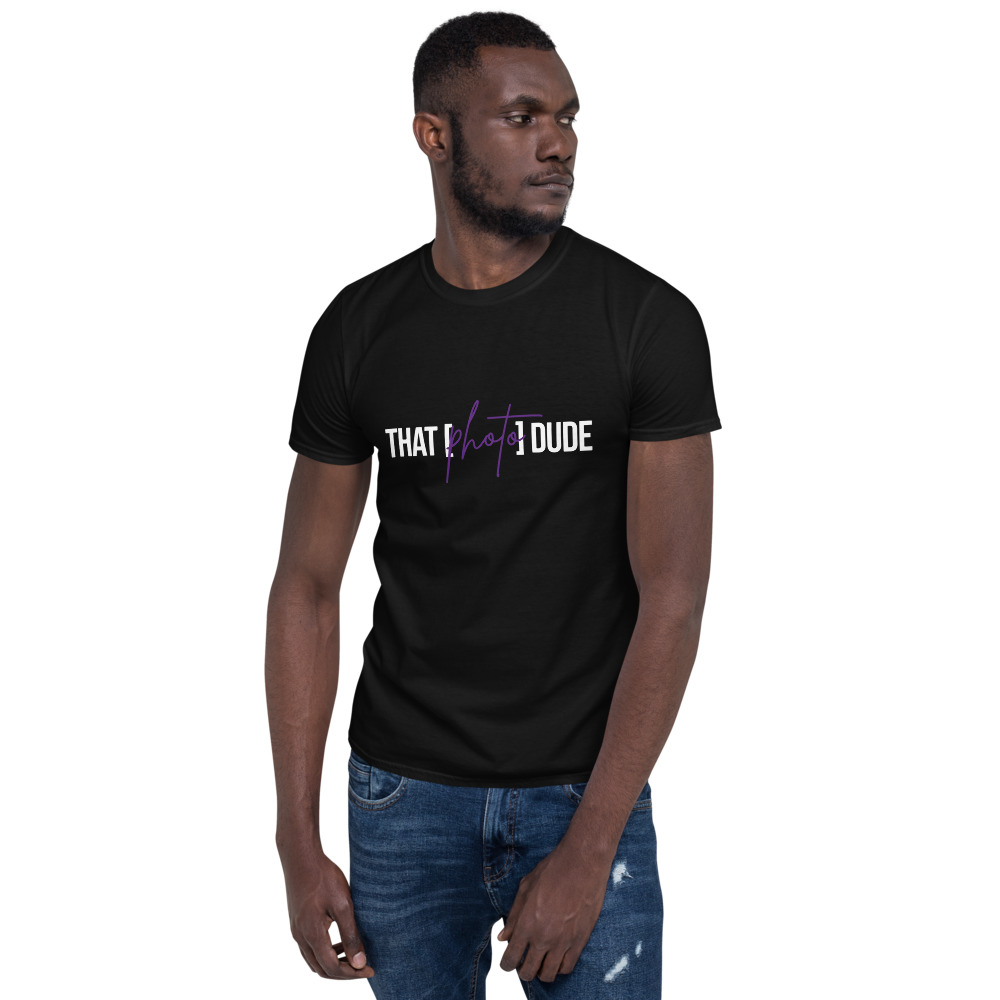 That Photo Dude Short-Sleeve Unisex T-Shirt