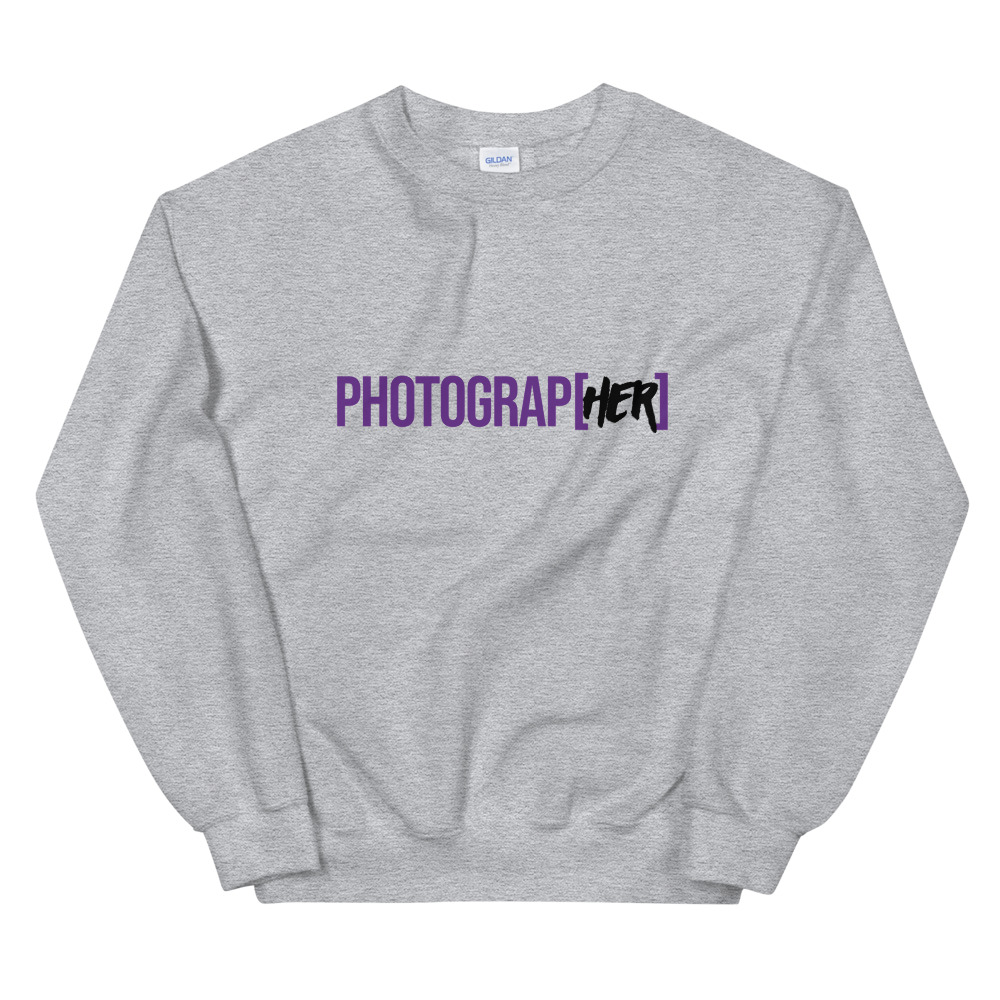 Photograp[her] Sweatshirt