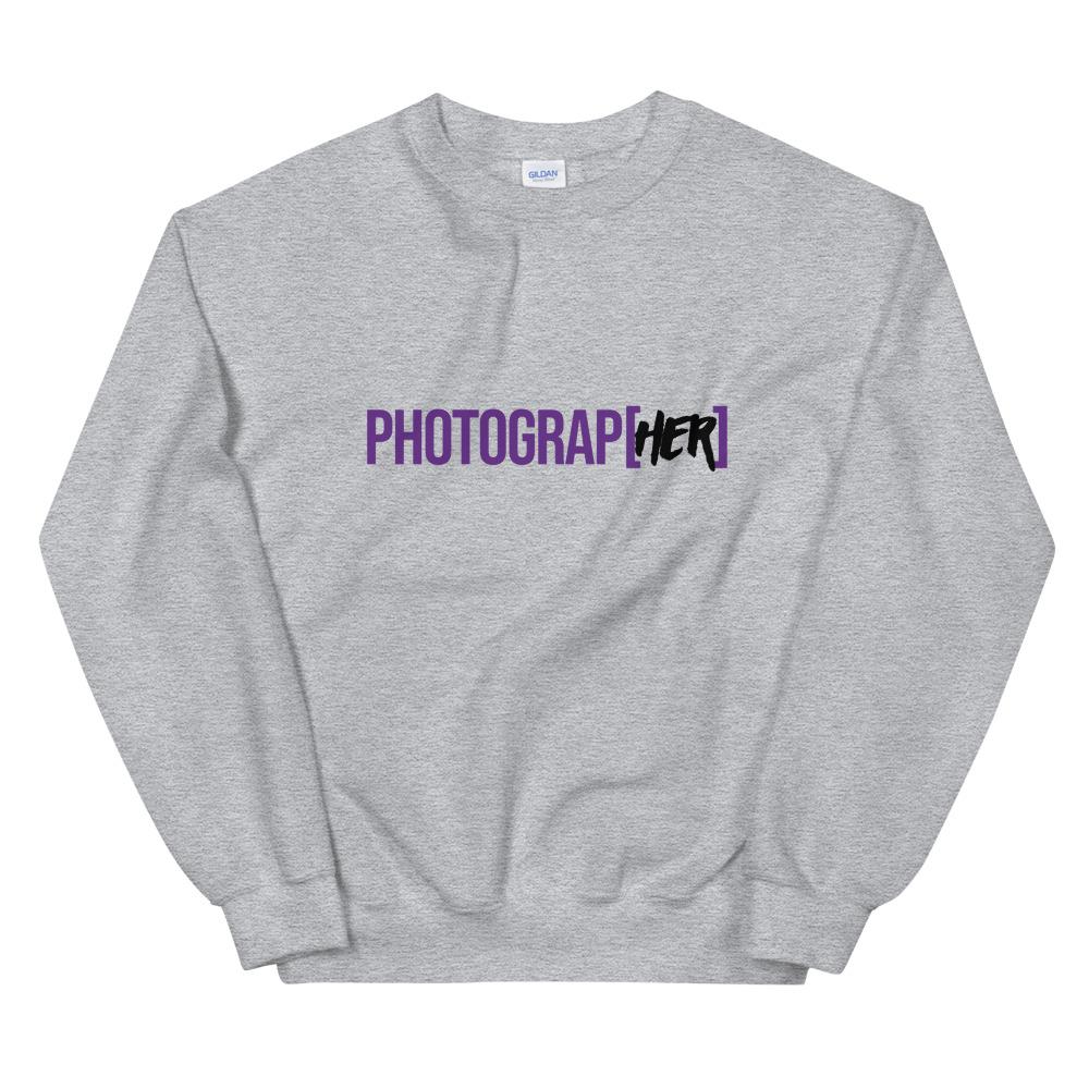 Photograp[her] Sweatshirt