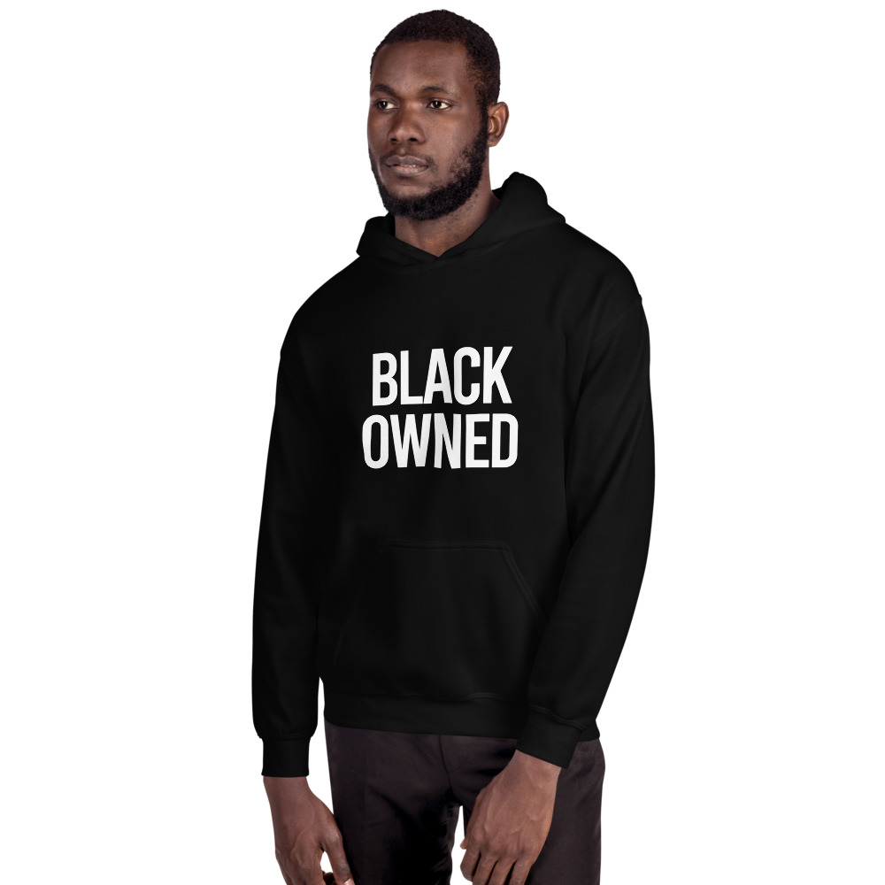 Black Owned Unisex Hoodie